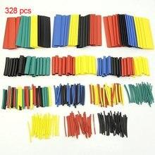 127/164/328/Schrumpfschlauch Isolierung Schrumpfschlauch alle Arten von Elektronik Verpackung Draht und Kabel Hülse Kit