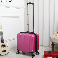 kid's Travel Luggage 18'' Cabin suitcase with wheels trolley bag carry on Rolling luggage bagage trolly bag for traveling fashio