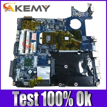 AKEMY laptop motherboard for TOSHIBA P300D seires A000038330 DABD3GMB6E0 DDR2 Mainboard free cpu