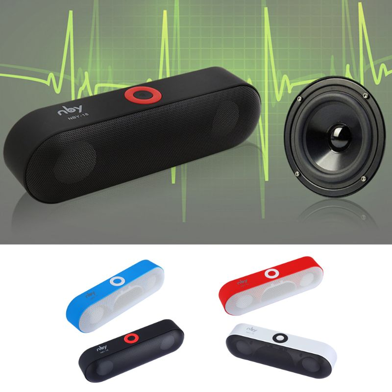 Wireless Bluetooth Speaker Mini Portable Smart Music Player Stereo Sound Outdoor Travel Car Device TF Card AUX USB Hands free C in Portable Speakers from Consumer Electronics
