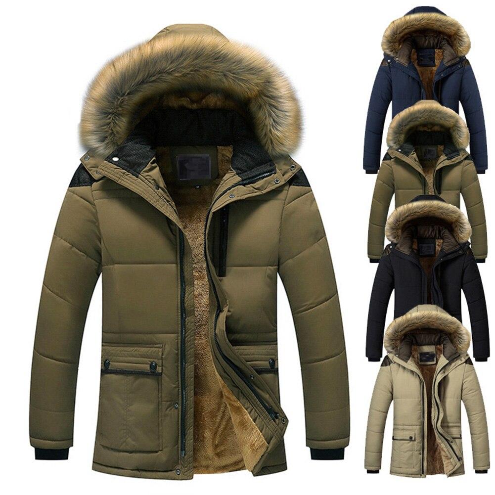 SMTSMT Womans Hooded Fur Collar Coat Faux Fur Zip Pocket Outwear Casual Cardigan