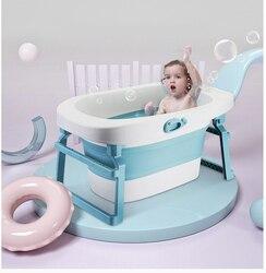Baby Klapp Badewanne Badewanne Persönlichkeit Badewanne Kunststoff Nicht-slip Faltbare Kleinkind Badewanne Große Badewanne Bebe Badewanne