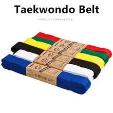 110 polegadas artes marciais karate judo taekwondo profissional cintos judo jiu jitsu fitas padrão de proteção cintura