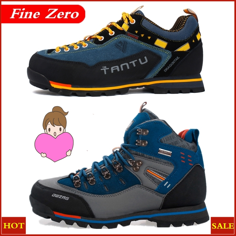 New Brand Men Boots Male Rubber Combat Ankle Work Safety Shoes Size 39-46 Autumn Winter Snow Boots Men Sneakers Outdoor Sneakers