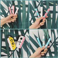 Nintend NS interruptor Joy Con correa de muñeca banda cuerda de mano cordón Video Juegos Accesorios para Nintendo Switch juego Joy- con controlador