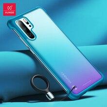 Xundd Telefon Fall Für Huawei P30 Pro Fall Airbag Stoßstange Schutzhülle Cases Matte Unframed Abdeckung Glas Für Huawei P30 Pro abdeckung