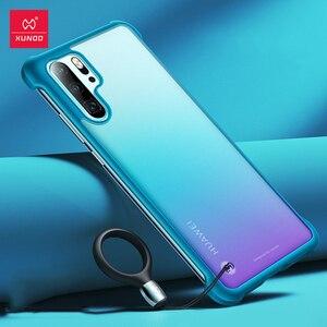 Image 1 - Xundd Telefon Fall Für Huawei P30 Pro Fall Airbag Stoßstange Schutzhülle Cases Matte Unframed Abdeckung Glas Für Huawei P30 Pro abdeckung