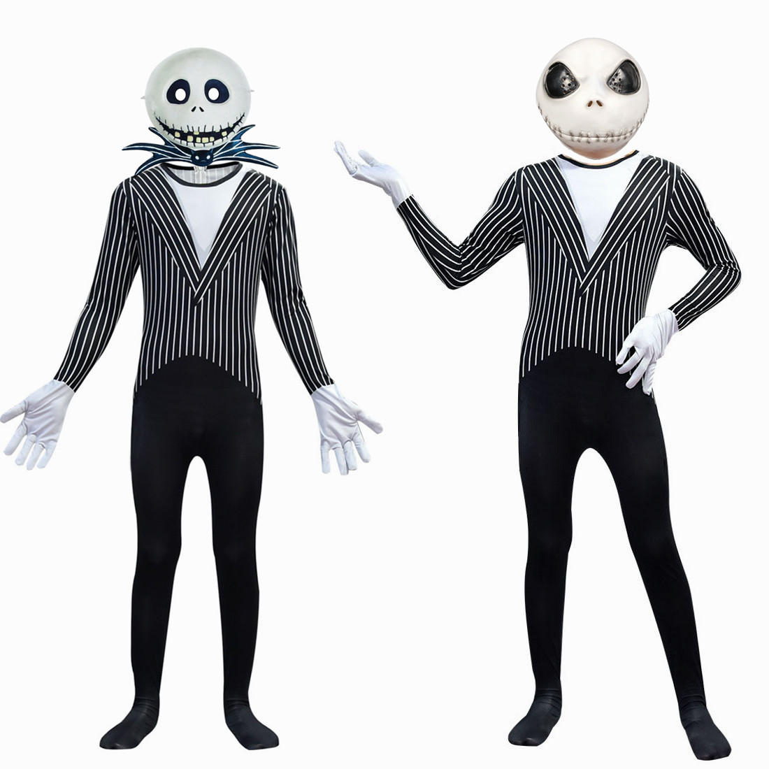 Jack From The Nightmare Before Christmas Costume For Kids Funny Party Costume Cosplay Halloween Boys Mask Costuming For Children
