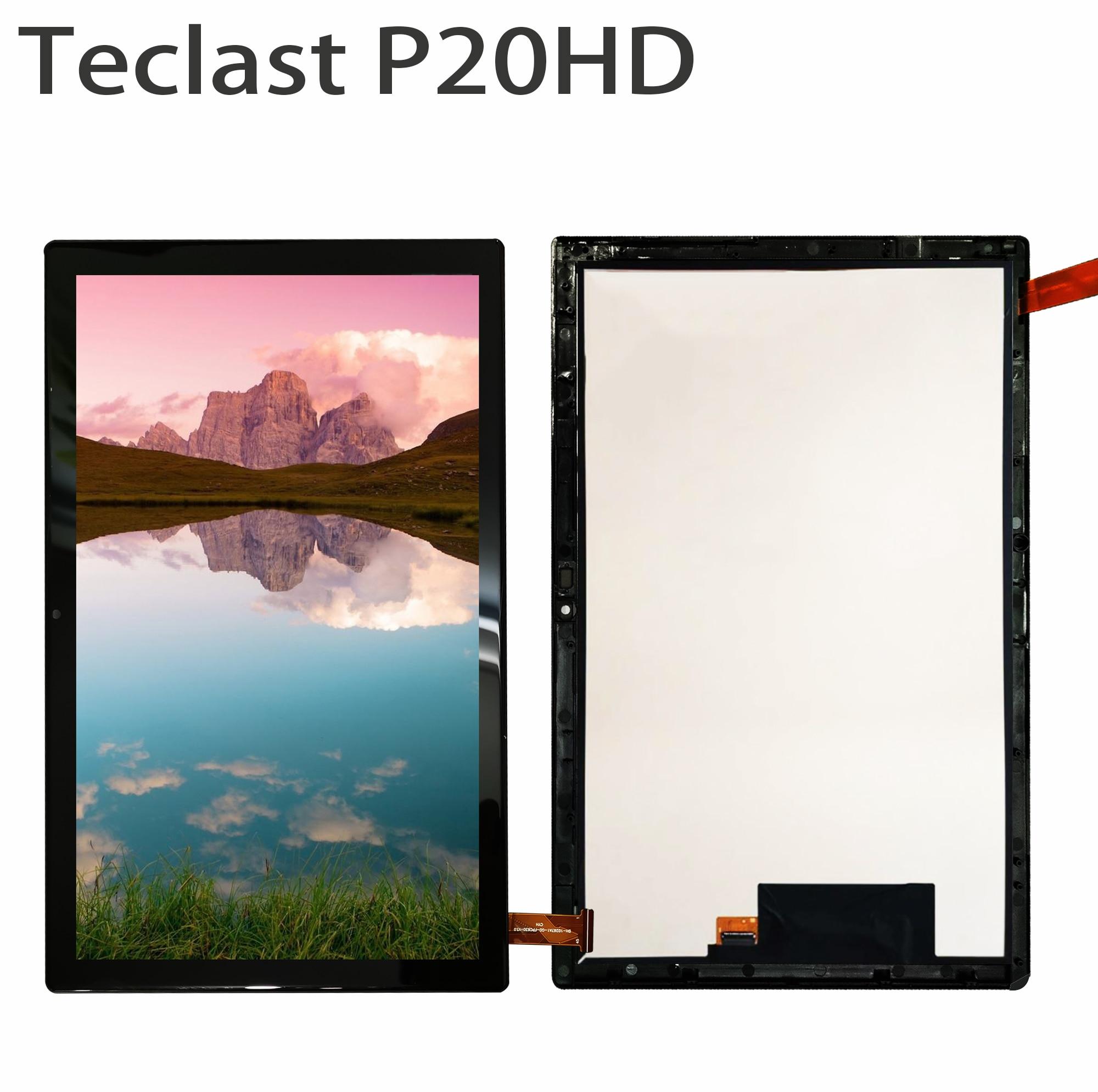 """Новый ЖК-дисплей Дисплей для 10,1 """"дюймовый планшет Teclast P20HD сенсорный экран Сенсорная панель дигитайзер Стекло Сенсор для Teclast P20 HD-0"""