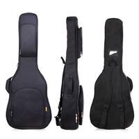 41 Inch Acoustic Guitar Bag Oxford Double Straps Ukulele Waterproof Guitar Cover Adjustable Shoulder Straps Guitar Carry bags