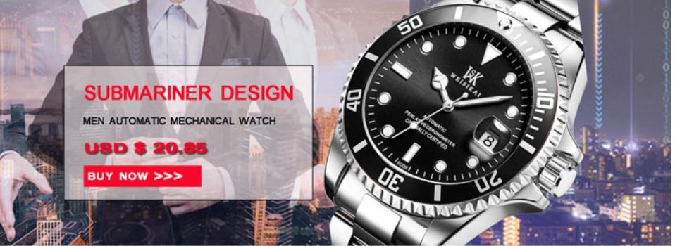 Johns Relogio GMD นาฬิกาผู้ชายอัตโนมัตินาฬิกาชายกีฬานาฬิกาแบรนด์หรู 1