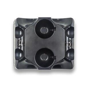 Image 4 - Station de chargeur de manette pour PSVR PS4 Base VR poignée support de support de contrôleur PS déplacer le jeu de mouvement Joystick Station de charge pour PS