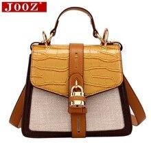 JOOZ crossbody bag for women 2020 new fashion crocodile bag luxury padlock shoulder messenger bag Brand shopping Clutch jooz brand women 100