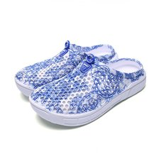 Fashion Round Toe Hollow Out EVA Female Sandals Fashion Summer Leisure Beach Shoes Breathable Women Sandals
