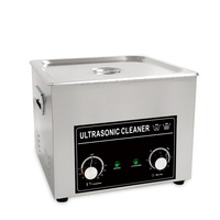 1.3L Ultrasonic Cleaner Bath Home Cleaning Machine 60W/120W 40KHZ Watches Eyeglass Jewelry Earrings Coins Ultrasound Washer