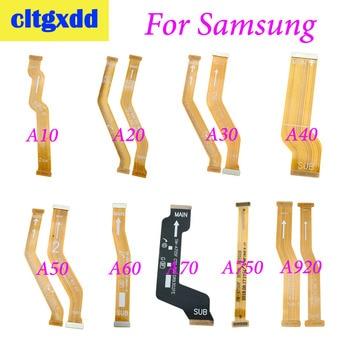 Cltgxdd 1 шт. для samsung Galaxy A10 A20 A30 A305F A40 A50 A60 A705F A920 материнская плата разъем ЖК-дисплей Дисплей гибкий кабель