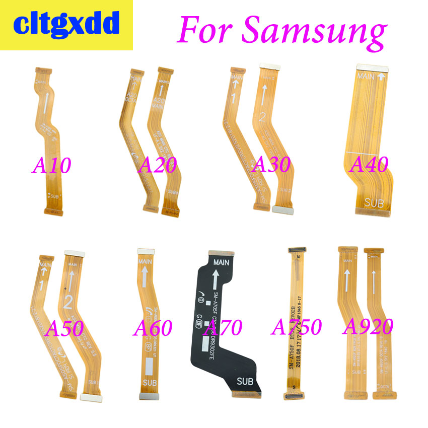 Cltgxdd 1pc For Samsung Galaxy A10 A20 A30 A305F A40 A50 A60 A705F A920 Motherboard Main Board Connector LCD Display Flex Cable
