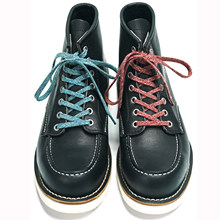 Dyeing 1 Pair Fashion Unisex Colourful Pure Cotton Flat Sneakers ShoeLaces 130cm Popular Casual Canvas Vintage Boots Shoes Laces