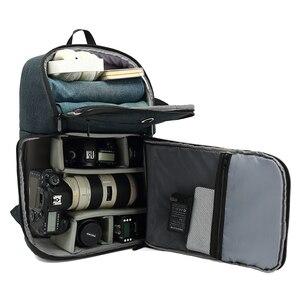 Image 1 - حقيبة ظهر للكاميرا مقاومة للماء متعددة الوظائف ، حقيبة سفر محمولة ذات سعة كبيرة ، حقيبة عدسة