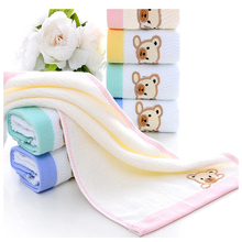 Soft Dog Towel Pet  Cat Bath Cleaning Wipes 100% Cotton Hair Dry for Puppy Supplies Drop Shipping