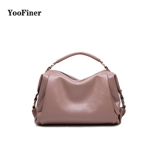 Large Capacity Shoulder Bag Woman 2019 Causal PU Leather Handbag Tote Bag Soft Zipper High Quality Fashion Shoulder Bags Women все цены