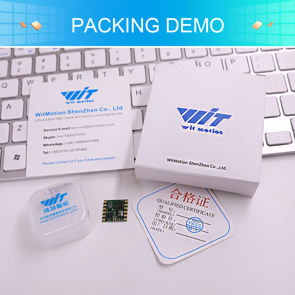 Image 5 - WT901 TTL & I2C Outout Sensor 3 Axis Digital Angle + Accelerometer + Gyro + Electronic Compass MPU9250 Module For PC/Android/MCUSmart Activity Trackers   -