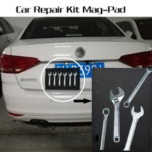 Storage-Mat While Car-Repair Holds-Your-Tools Magnetic-Pad Working Portable-Size