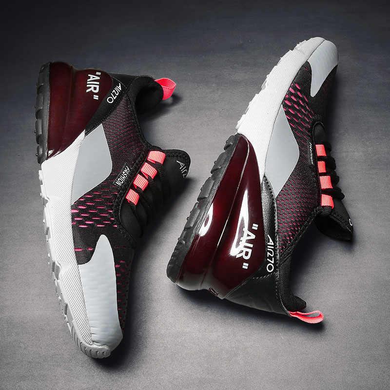 Sıcak satış erkekler koşu ayakkabıları atletik eğitmenler açık kadın yürüyüş spor ayakkabı koşu Sneakers boyutu artı