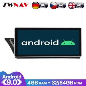4 + 64 сенсорный экран Android 9,0 Автомобильный мультимедийный плеер GPS аудио для Audi A4 для Audi A5 2009-2015 радио видео стерео wifi бесплатная карта