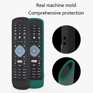 Image 5 - Dustproof Soft Silicone Case Remote Control Protective Cover for Philips SMART TV NETFLIX TV Remote Control