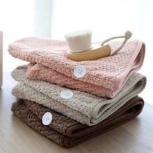 100% Cotton Magic Microfiber Hair Fast Drying Dryer Towel Bath