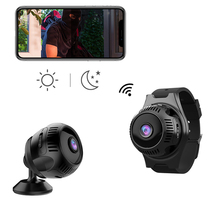 X7 4K mini wifi camera motion detection night vision dv recorder with full hd 1080p micro camera protable with watch strap