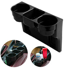 1pc New Car Cup Holder Auto Interior Organizer Portable Multifunction Vehicle Seat Gap Cup Bottle Phone Drink Holder Stand Boxes(China)