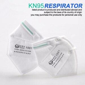 Image 1 - 100 Pcs Gezicht Maskers Beschermende Koreaanse Mond Masker Pm 2.5 Filter Masques Ademhalingsapparaatmasker Herbruikbare Gezondheid Satety Facemask Cover Maska