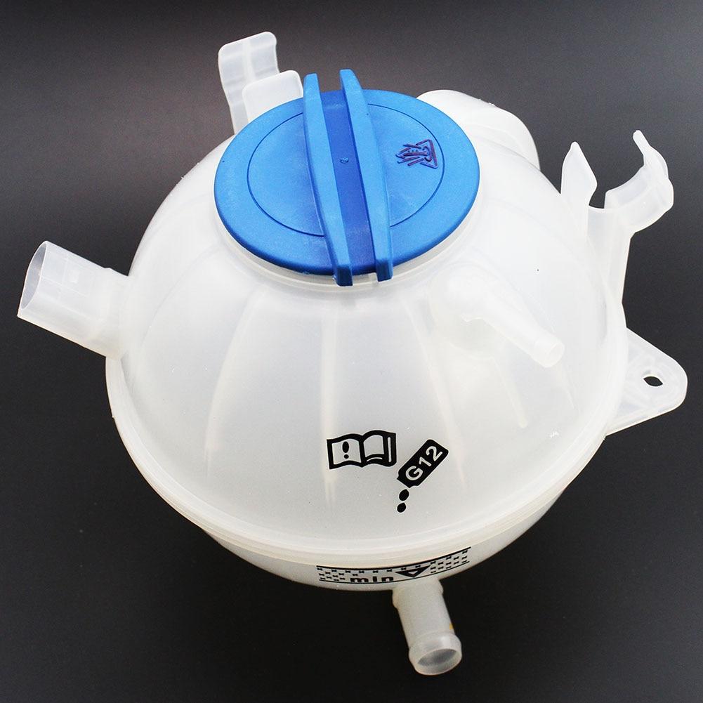 LARBLL Coolant Reservoir Expansion Tank With Cap 1K0121407A fit for VW Volkswagen Beetle Passat Audi TT Quattro A3 CC Q3