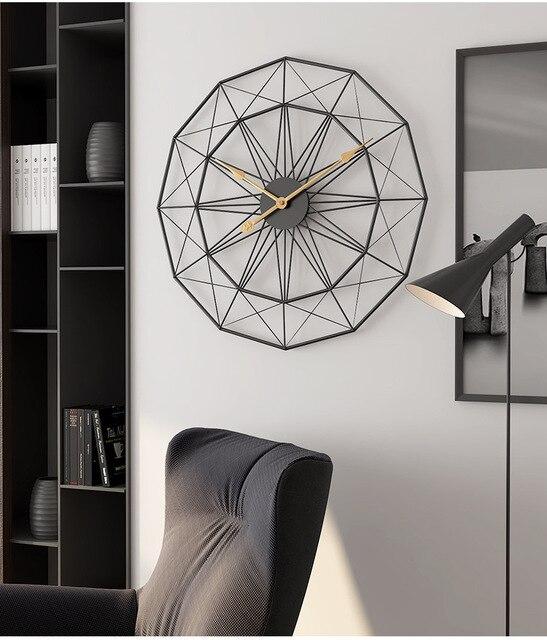Nordic Metal Wall Clock