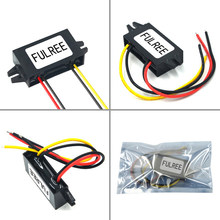 Estabilizador de transformador de voltaje para coches, convertidor de CC a CC, reductor de voltaje de 24 V a 12 V, 1A, 2A, 3A, 5A, 8A, 10A, 12A, 15A, 20A, 30A