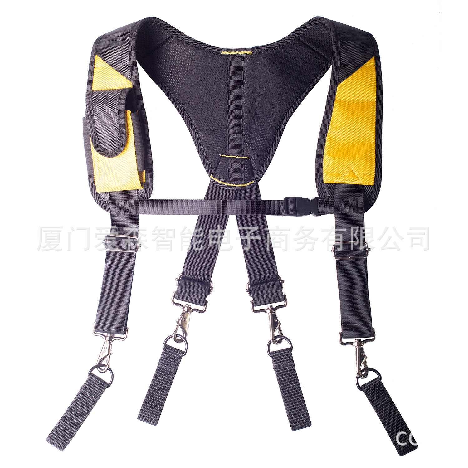 Men's Work Clothes Suspenders Straps Multi-Function Reduce Heavy Weight Tooling Strap Type X Tool Suspender For Hanging Tool Bag