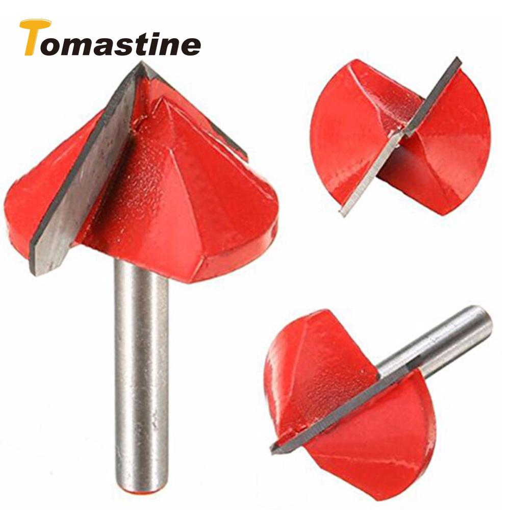 60/90/120 Degree Engraving V Groove Bit Tungsten Steel CNC Router Engraving Wood Working Tool Milling Cutter Machine Accessories