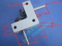 1Set 90 Degree Converter Speed Ratio 1:1 Small Spiral Bevel Gear Box output shaft :6mm rectangular commutator