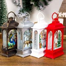 Рождественский праздничный декоративный светильник s атмосферный светильник s Портативный ветровой светильник низкое потребление лампы бар креативный светильник s