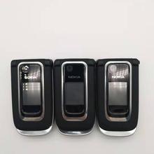 Отремонтированный разблокированный 6131 Мобильный телефон Nokia 6131 дешевая GSM камера FM Bluetooth хорошее качество телефон мульти клавиатуры
