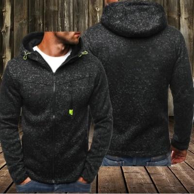 Hoodies Men 2019 Long Sleeve Pullover Hoodies Men Zipper Sweatshirt Male Tracksuit Hip Hop Autumn Winter Hoodies Coat