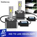 2 шт., Автомобильные светодиодные лампы D3S светодиодный 1s D5S D8S D4S, 12 В, 70 Вт, лм