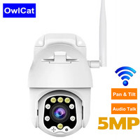 1080P Wifi Camera Outdoor 2MP 5MP Two Way Audio Talk Home Security IP Camera Pan Tilt Speed Dome Camera with 128G SD Card slot