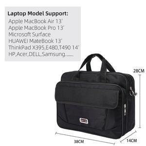 Image 5 - Kissyenia Brand Waterproof Nylon Laptop Briefcase Men Bag Travel Suitcase Business Laptop Mens Briefcase Bolsa Masculina KS1317