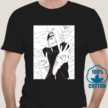 Naruto T-Shirt Manga Tees Harajuku Streetwear Men Cotton Tops Anime 9625X Deidara