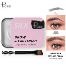 Pudaier Feathery Brows Setting Gel Grooming Eyebrows Gel for Eyebrows Styling Wax/soap Henna for Eyebrow Pencil rows Soap Kit(China)