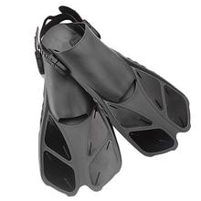 Плавники для плавания, подводного плавания, ласты для ног, плавучий плавник с регулируемой пяткой для плавания, дайвинга, водных видов спорта(L/XL