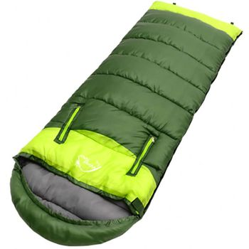 Splicing Sleeping Bag Adult Envelope Type Lightweight Portable Damp-proof Thermal Zipper Outdoor Camping Travel Accessories